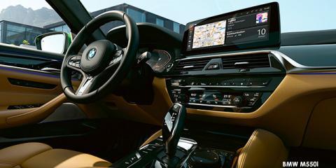BMW M550i xDrive - Image credit: © 2021 duoporta. Generic Image shown.