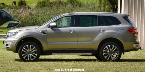 Ford Everest 2.0Bi-Turbo 4WD Limited - Image credit: © 2021 duoporta. Generic Image shown.