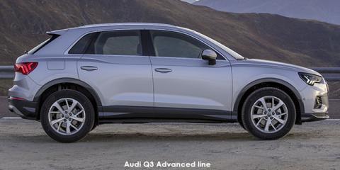 Audi Q3 40TFSI quattro Advanced line - Image credit: © 2021 duoporta. Generic Image shown.