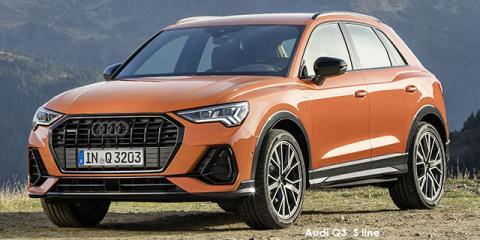 Audi Q3 40TFSI quattro S line - Image credit: © 2021 duoporta. Generic Image shown.