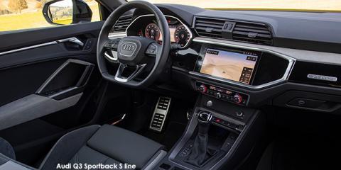 Audi Q3 Sportback 35TFSI S line - Image credit: © 2020 duoporta. Generic Image shown.