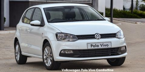 Volkswagen Polo Vivo hatch 1.6 Comfortline auto - Image credit: © 2021 duoporta. Generic Image shown.