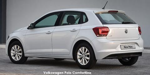 Volkswagen Polo hatch 1.0TSI Comfortline - Image credit: © 2020 duoporta. Generic Image shown.