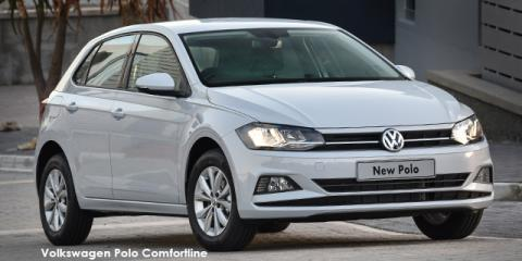 Volkswagen Polo hatch 1.0TSI Comfortline auto - Image credit: © 2020 duoporta. Generic Image shown.