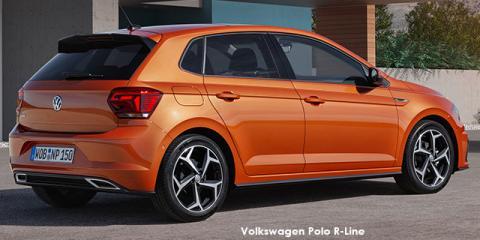 Volkswagen Polo hatch 1.0TSI Comfortline R-Line auto - Image credit: © 2021 duoporta. Generic Image shown.