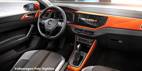 Volkswagen Polo hatch 1.0TSI Highline auto - Image credit: © 2020 duoporta. Generic Image shown.