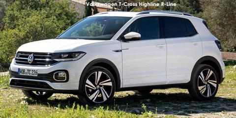 Volkswagen T-Cross 1.0TSI 85kW Comfortline R-Line - Image credit: © 2021 duoporta. Generic Image shown.