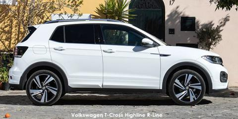 Volkswagen T-Cross 1.0TSI 85kW Highline - Image credit: © 2021 duoporta. Generic Image shown.