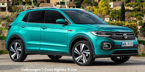 Volkswagen T-Cross 1.5TSI 110kW R-Line - Image credit: © 2020 duoporta. Generic Image shown.
