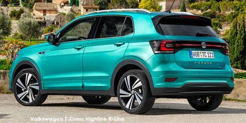Volkswagen T-Cross 1.5TSI 110kW R-Line - Image credit: © 2021 duoporta. Generic Image shown.