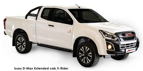 Isuzu D-Max 250 Extended cab X-Rider auto - Image credit: © 2020 duoporta. Generic Image shown.