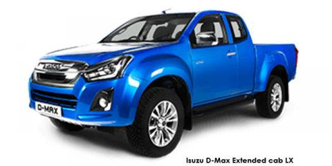 Isuzu D-Max 300 3.0TD Extended cab LX auto - Image credit: © 2021 duoporta. Generic Image shown.