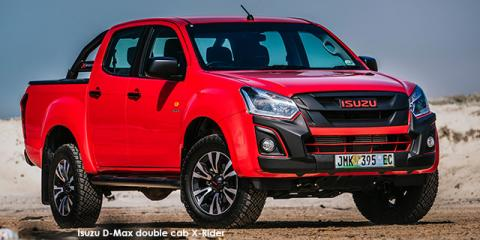 Isuzu D-Max 250 double cab X-Rider - Image credit: © 2021 duoporta. Generic Image shown.