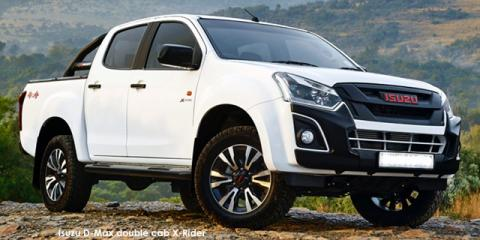 Isuzu D-Max 250 double cab 4x4 X-Rider - Image credit: © 2021 duoporta. Generic Image shown.