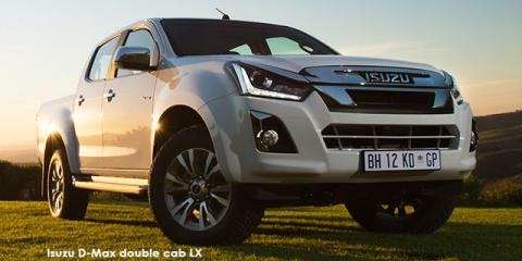 Isuzu D-Max 300 3.0TD double cab LX auto - Image credit: © 2021 duoporta. Generic Image shown.