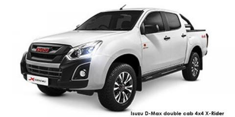 Isuzu D-Max 300 3.0TD double cab 4x4 LX auto - Image credit: © 2020 duoporta. Generic Image shown.