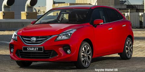 Toyota Starlet 1.4 XS - Image credit: © 2021 duoporta. Generic Image shown.