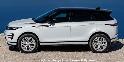 Land Rover Range Rover Evoque P250 R-Dynamic HSE - Image credit: © 2021 duoporta. Generic Image shown.