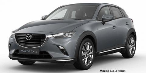 Mazda CX-3 2.0 Hikari - Image credit: © 2021 duoporta. Generic Image shown.