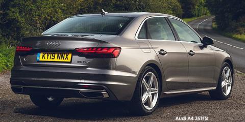 Audi A4 35TFSI Advanced line - Image credit: © 2021 duoporta. Generic Image shown.
