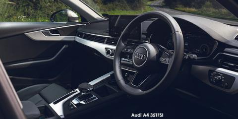 Audi A4 40TFSI Advanced line - Image credit: © 2020 duoporta. Generic Image shown.