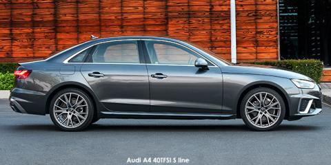 Audi A4 40TFSI S line - Image credit: © 2021 duoporta. Generic Image shown.