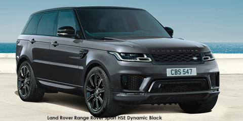 Land Rover Range Rover Sport HSE Dynamic Black Supercharged - Image credit: © 2021 duoporta. Generic Image shown.