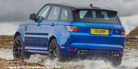 Land Rover Range Rover Sport SVR - Image credit: © 2020 duoporta. Generic Image shown.