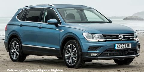 Volkswagen Tiguan Allspace 1.4TSI Trendline - Image credit: © 2021 duoporta. Generic Image shown.
