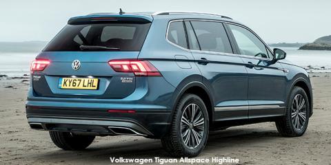 Volkswagen Tiguan Allspace 2.0TSI 4Motion Highline - Image credit: © 2021 duoporta. Generic Image shown.