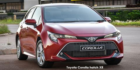 Toyota Corolla hatch 1.2T XS auto - Image credit: © 2021 duoporta. Generic Image shown.