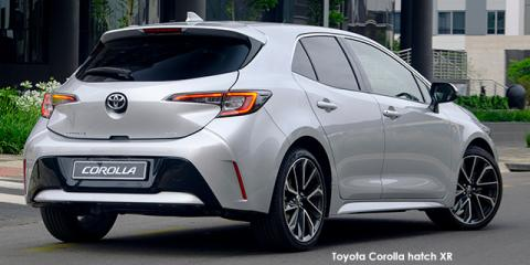 Toyota Corolla hatch 1.2T XR - Image credit: © 2021 duoporta. Generic Image shown.