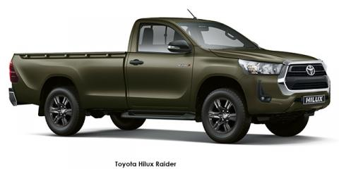Toyota Hilux 2.4GD-6 Raider auto - Image credit: © 2021 duoporta. Generic Image shown.