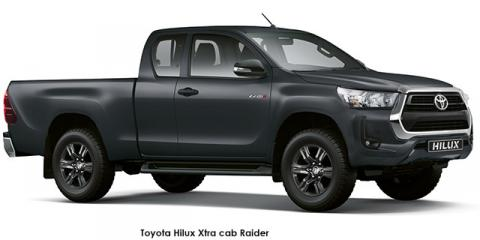 Toyota Hilux 2.4GD-6 Xtra cab Raider auto - Image credit: © 2021 duoporta. Generic Image shown.