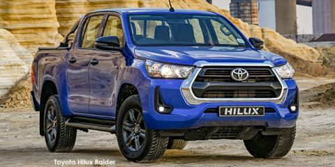 Toyota Hilux 2.4GD-6 double cab Raider - Image credit: © 2021 duoporta. Generic Image shown.