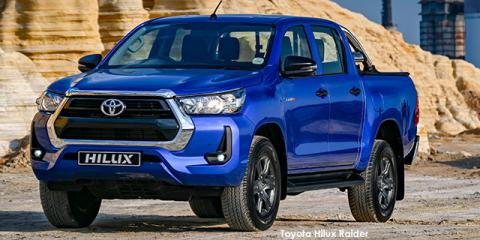 Toyota Hilux 2.4GD-6 double cab 4x4 Raider - Image credit: © 2021 duoporta. Generic Image shown.