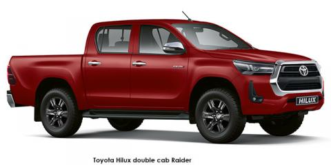 Toyota Hilux 2.8GD-6 double cab Raider auto - Image credit: © 2021 duoporta. Generic Image shown.