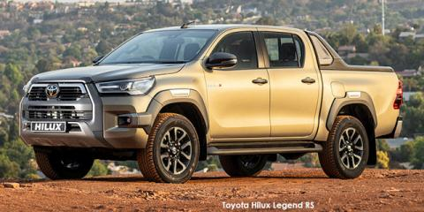 Toyota Hilux 2.8GD-6 double cab 4x4 Legend RS auto - Image credit: © 2021 duoporta. Generic Image shown.
