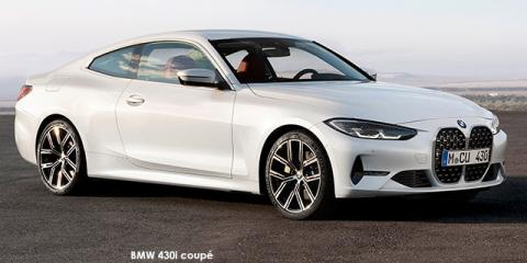BMW 420i coupe - Image credit: © 2021 duoporta. Generic Image shown.