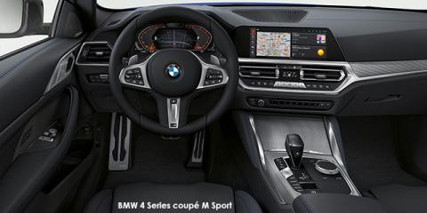 BMW 420d coupe M Sport - Image credit: © 2021 duoporta. Generic Image shown.