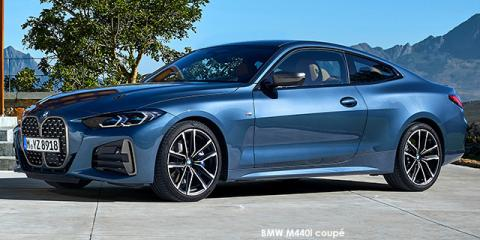 BMW M440i xDrive coupe - Image credit: © 2020 duoporta. Generic Image shown.