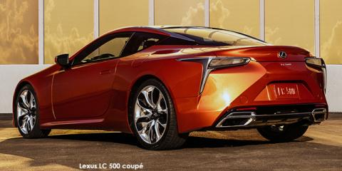 Lexus LC 500 coupe - Image credit: © 2021 duoporta. Generic Image shown.
