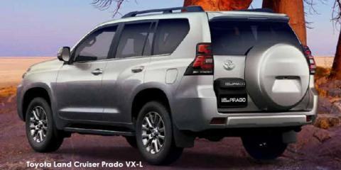 Toyota Land Cruiser Prado 4.0 VX-L - Image credit: © 2021 duoporta. Generic Image shown.