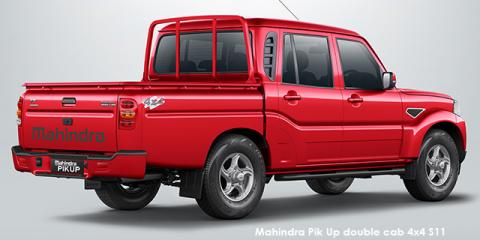 Mahindra Pik Up 2.2CRDe double cab S6 - Image credit: © 2021 duoporta. Generic Image shown.