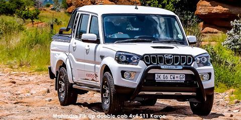Mahindra Pik Up 2.2CRDe double cab 4x4 S6 Karoo - Image credit: © 2021 duoporta. Generic Image shown.