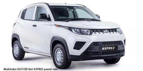 Mahindra KUV100 Nxt 1.2 G80 K2+ #XPREZ panel van - Image credit: © 2021 duoporta. Generic Image shown.