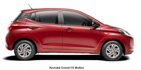 Hyundai Grand i10 1.0 Motion auto - Image credit: © 2021 duoporta. Generic Image shown.