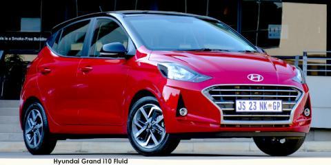 Hyundai Grand i10 1.2 Fluid auto - Image credit: © 2021 duoporta. Generic Image shown.
