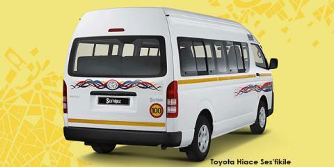 Toyota Hiace 2.7 Ses-fikile 16-seater - Image credit: © 2021 duoporta. Generic Image shown.