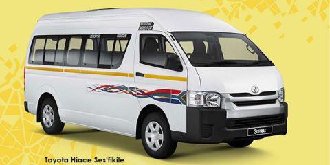 Toyota Hiace 2.5D-4D Ses-fikile 16-seater - Image credit: © 2020 duoporta. Generic Image shown.